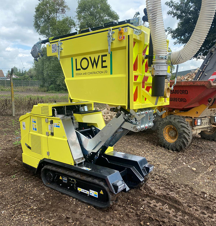 Lowe specialist excavations in the UK